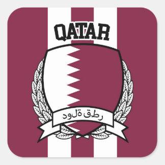 Qatar Square Sticker