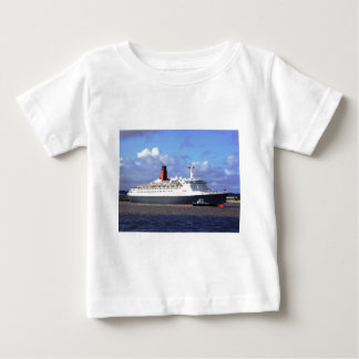 QE11 On the River Mersey, Liverpool UK Baby T-Shirt