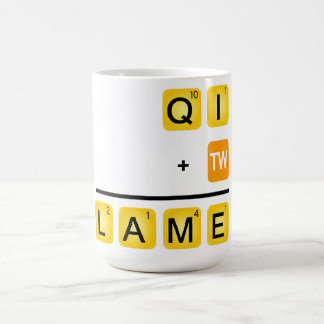 QI is LAME! Coffee Mug