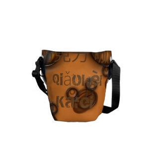 qiǎokèlì  kāfēi/ Chocolate Coffee Edition Courier Bag