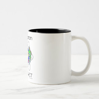 Qk! Manhattan Project Two-Tone Coffee Mug