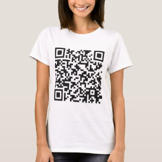QR Barcode: Got the guts to scan me..... T-Shirt