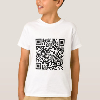 QR barcode: Thanks for scanning me... T-Shirt