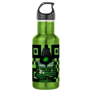 QR Binary 532 Ml Water Bottle