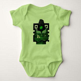 QR Binary Baby Bodysuit
