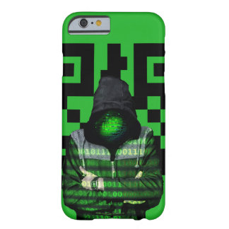 QR Binary Barely There iPhone 6 Case