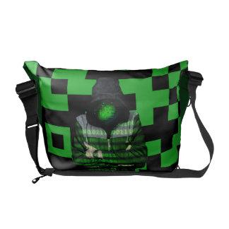 QR Binary Commuter Bag