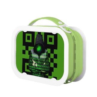 QR Binary Lunch Box