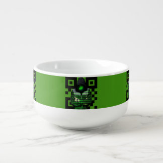 QR Binary Soup Mug