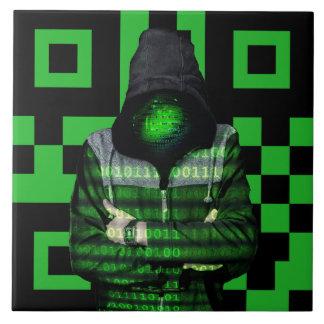 QR Binary Tile