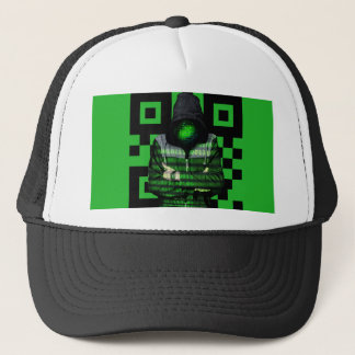 QR Binary Trucker Hat