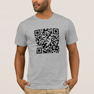 QR Code - Android and iphone scannable shirt! T-Shirt
