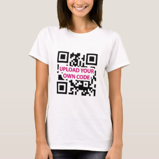 QR Code Customizable T-Shirt