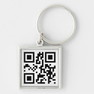 QR Code - I love you! Keychain