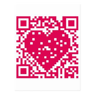QR Code - Love Postcard