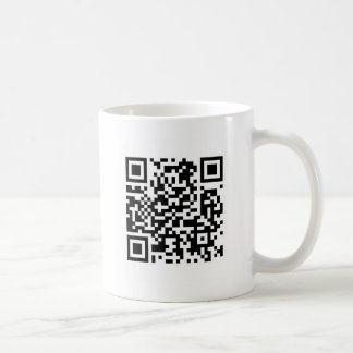QR code Make the world a better place with your .. Coffee Mug