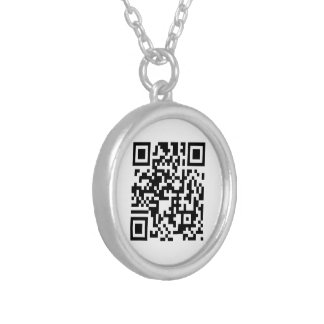"""QR Code"" Necklace"