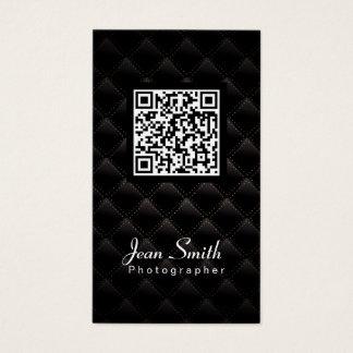 QR Code Photographer Photography Business Card