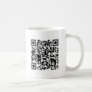 "qr code ""Point that phone somewhere else please"" Coffee Mug"