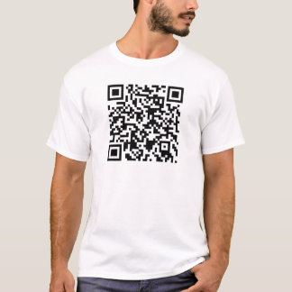 Qr Code Shirt - Customizable