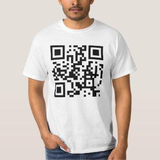 """QR_Nerds - """"nerds ftw! ;D"""" T-Shirt"""