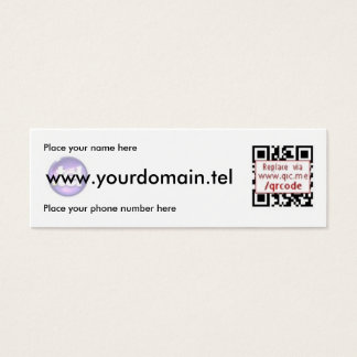 QRCode Business Card for .Tel Domains
