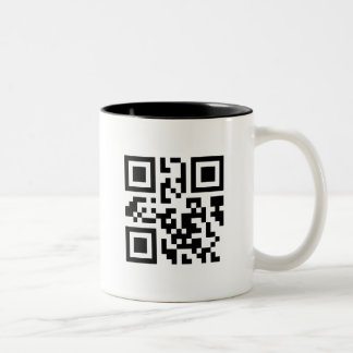 QRMug Two-Tone Coffee Mug
