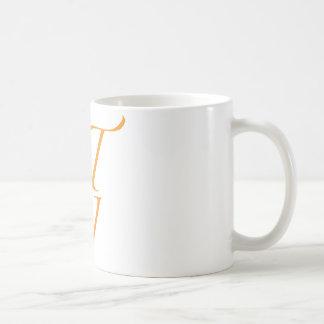 QTPI ORANGE COFFEE MUG