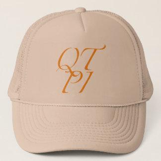 QTPI ORANGE TRUCKER HAT