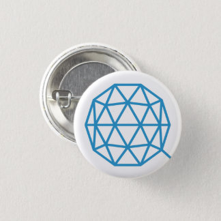 QTUM Round Button (White)