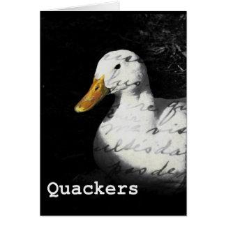 Quackers Card
