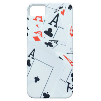 Quad Aces Poker Cards Pattern, iPhone 5 Cover