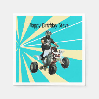 Quad Bike / ATV Napkin
