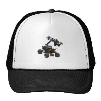 quad bike trucker hat