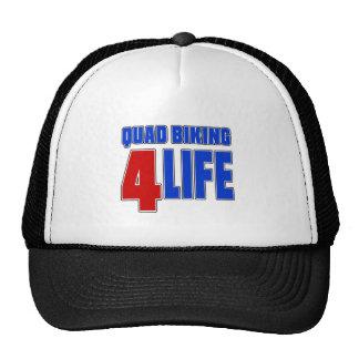 QUAD BIKING 4 LIEE TRUCKER HAT
