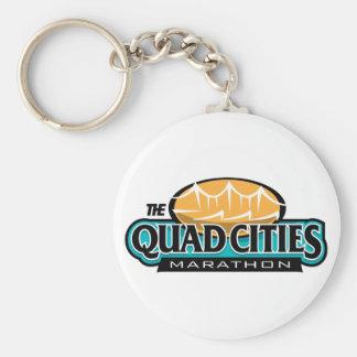 Quad Cities Marathon Key Chain