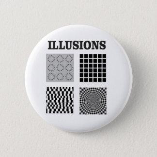 quad illusions 2 inch round button