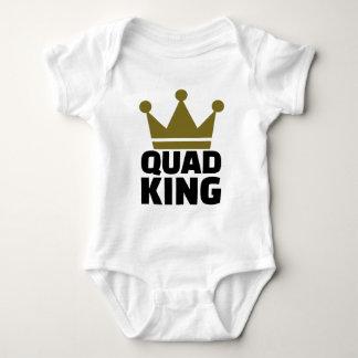 Quad king baby bodysuit