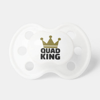 Quad king baby pacifier