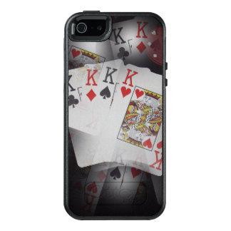 Quad Kings In A Layered Pattern, OtterBox iPhone 5/5s/SE Case