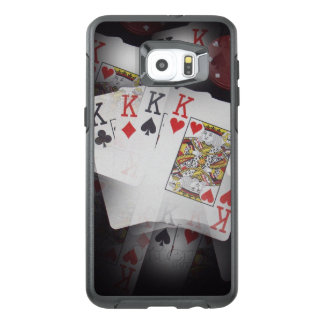 Quad Kings In A Layered Pattern, OtterBox Samsung Galaxy S6 Edge Plus Case
