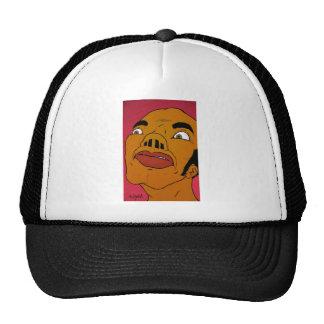 quad nose trucker hat