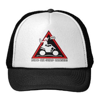 QUAD RACER DUDE TRUCKER HAT