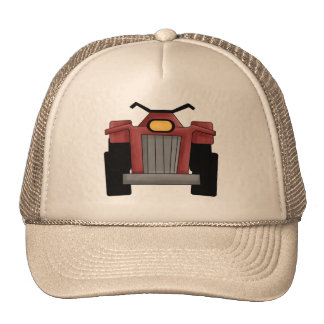 Quad Runner Bike Trucker Hat