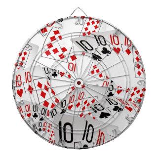 Quad Tens In A Layered Pattern, Dartboard