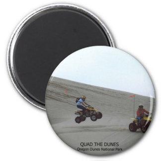 Quad The Dunes Oregon Coast Sand Fun 4 Wheel Magnet