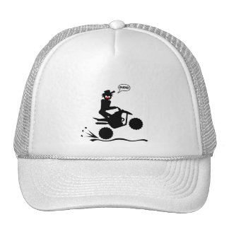 QUAD WHEELIES TRUCKER HAT