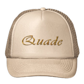 QUADE Name Branded Personalised Gift Hat