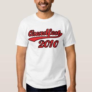 Quadfest 2010 Baseball Style T-Shirt