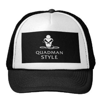 QUADMAN STYLE TRUCKER HAT